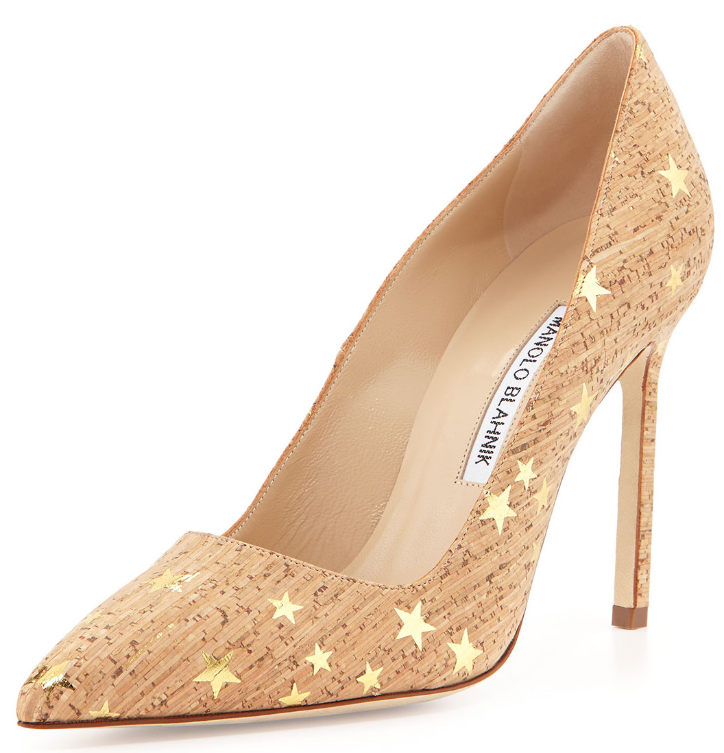 """caf69dfb72 BB pump by Manolo Blahnik: """"totally timeless and very chic and ..."""