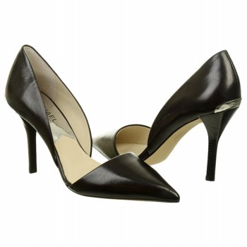 black work pumps by Michael Kors