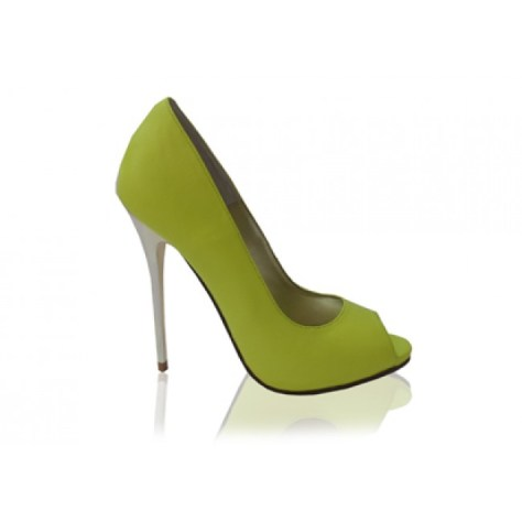 Izoa peeptoe high heels