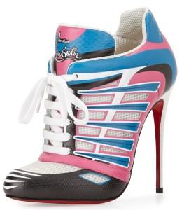 Christian Louboutin sneaker high heels