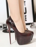 6 inch platform heels