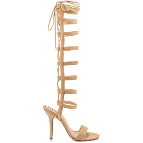 bone gladiator sandals