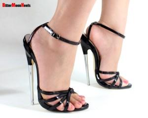 6 inch heels with no platform