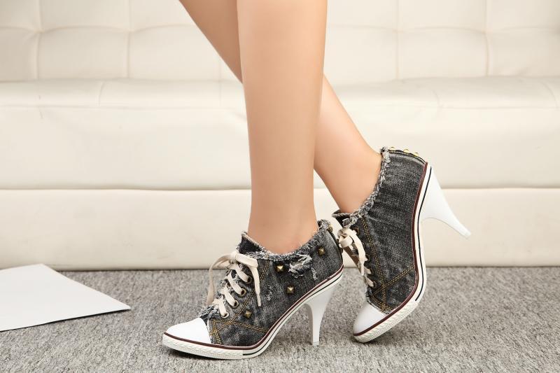 high heel sneakers 2017
