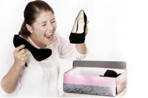 return rates for high heels