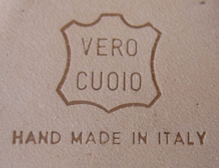 """What does """"vero cuoio"""" mean on the bottom of high heeled ..."""