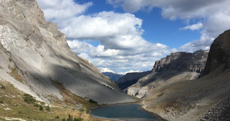 Bourgeau Lake and Harvey Pass {Banff National Park}
