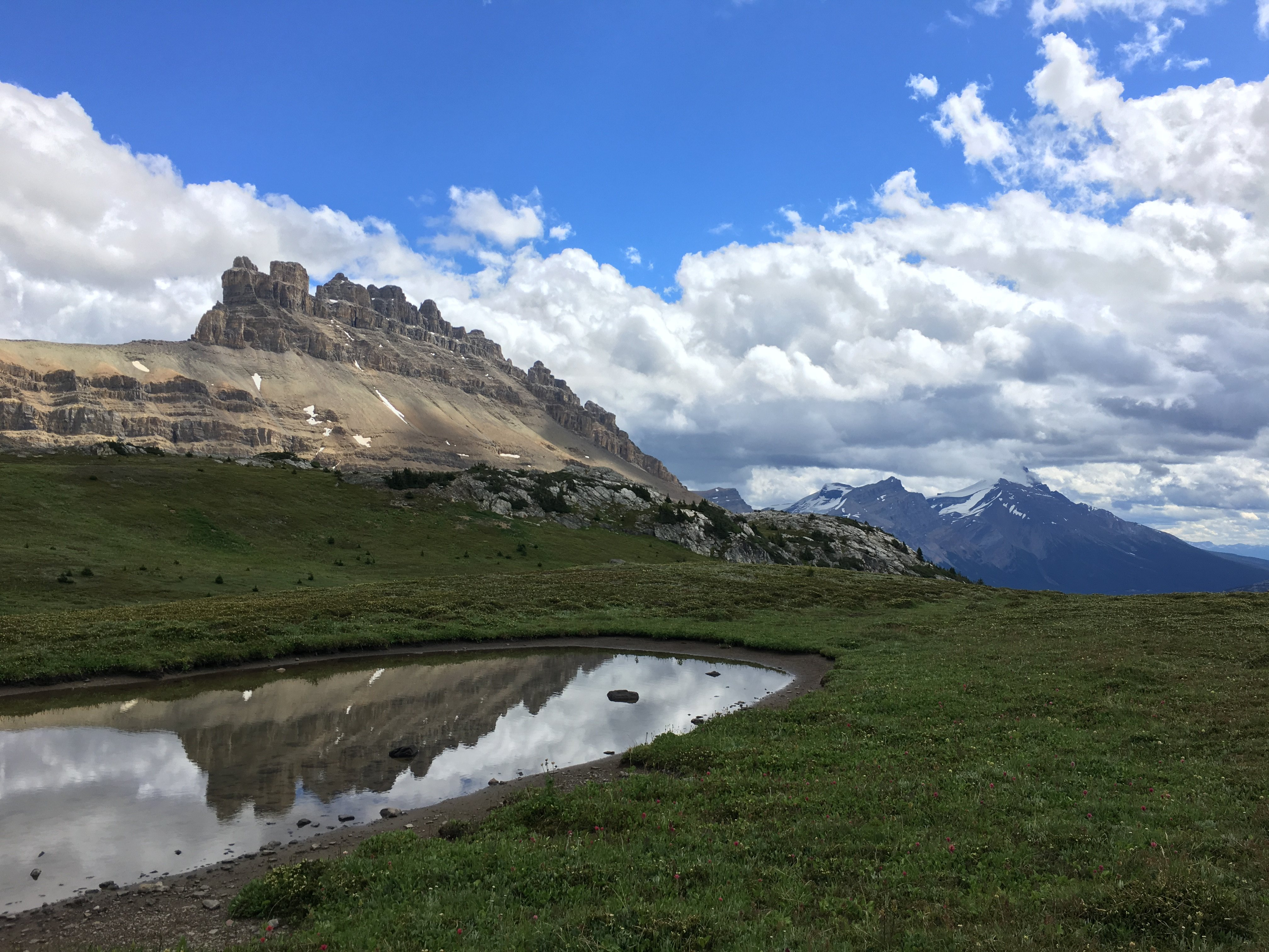 Helen Lake and Dolomite Pass {Banff National Park}
