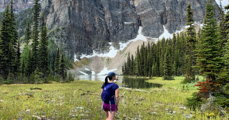 Gibbon Pass {Kootenay National Park}
