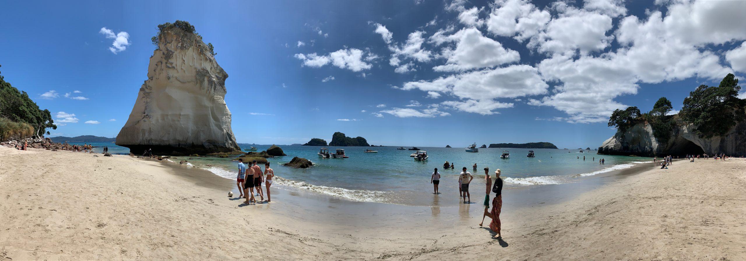 Cathedral Cove {Coromandel Peninsula}