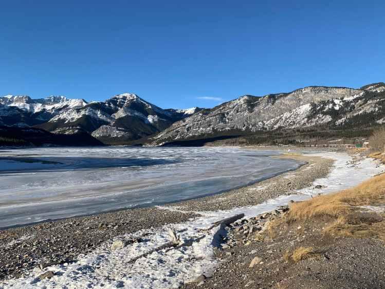 Barrier Lake Winter