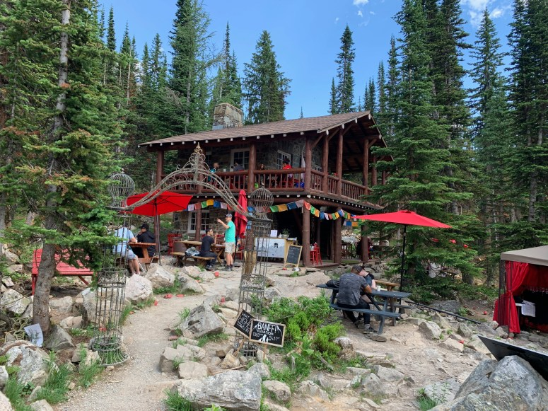 Teahouse at Plain of the Six Glaciers