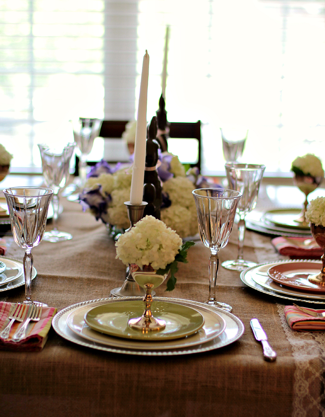 Easter Dinner Tablescape  High Heels To Hot Wheels