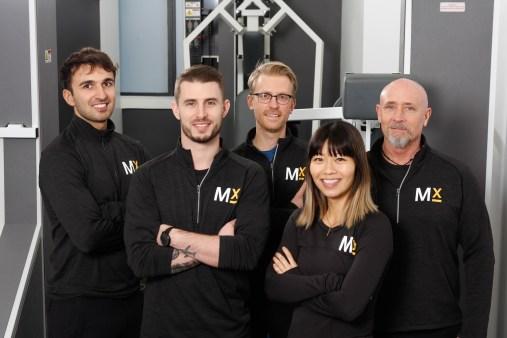 Blair Wilson and the MedX Precision Fitness Team