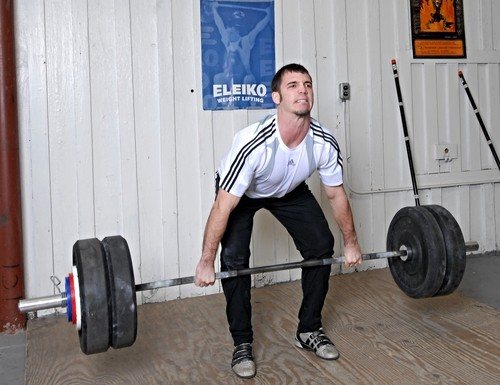 Dr Andy Galpin deadlift