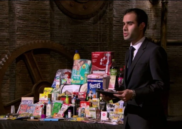 Deepak Tailor on Dragon's Den