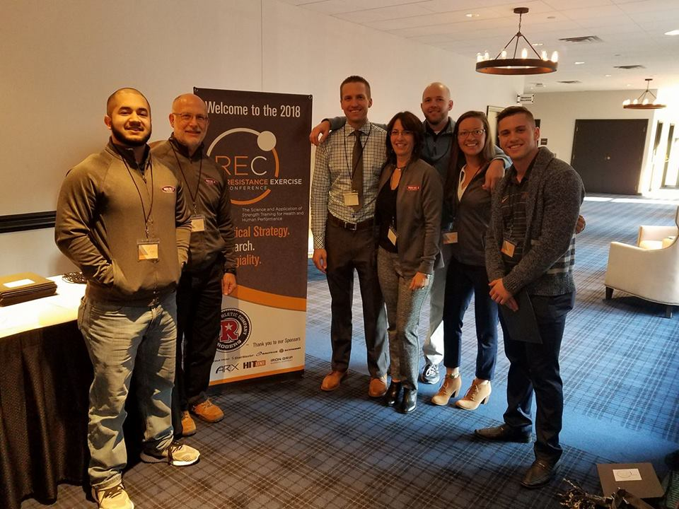 Rock solid Fitness & co at the Resistance Exercise Conference