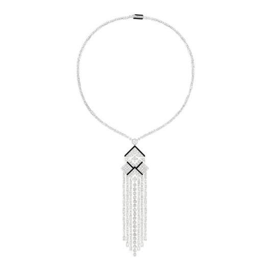 Chanel Café Society Charleston necklace.
