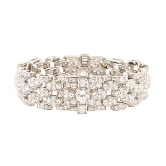 Bulgari art deco bracelet