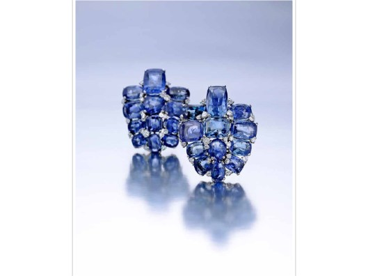Cartier Sapphire Clip Brooches.001