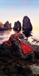 "Sautoir Chérie and Capri's ""Faraglioni"""