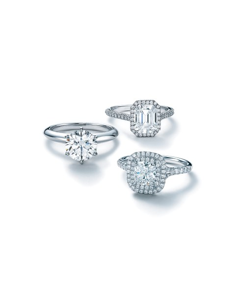 Classic Winston™, Heart-Shaped Diamond Engagement Ring A heart-shaped diamond, 1.08 carats, set as a ring with tapered baguette side stones; total weight 1.31 carats; platinum setting.