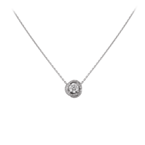 The iconic Trinity is re-interpreted as a bejeweled ribbon paved with brilliant-cut diamonds that coils around the central diamond. Entwined by a swirl of love, the radiant Trinity Ruban celebrates the infinite connection of an eternal bond.