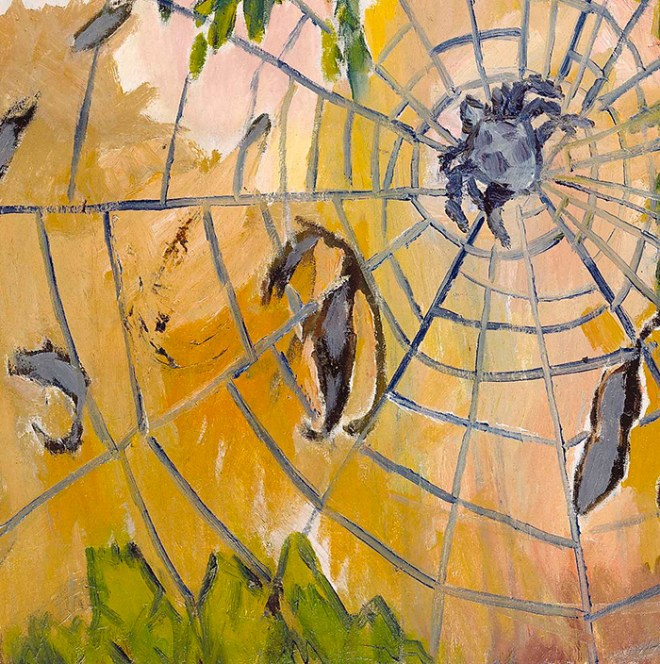 Mikhail Larionov's The Spider's Web.