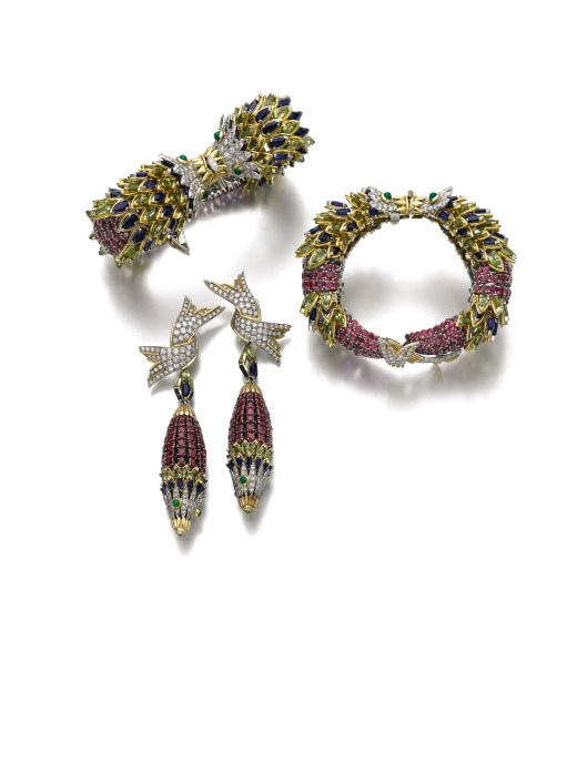 Gem-set and Diamond Demi-parure, Jean Schlumberger