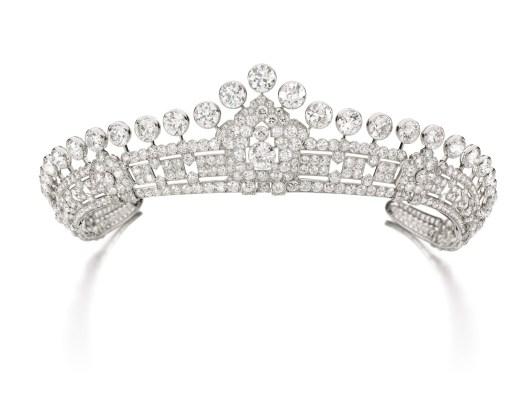 Diamond Cartier Tiara