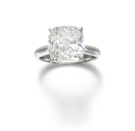 Diamond Ring, (Lot 398, est. £120,000–180,000/ €169,000–253,000/US$ 180,000-270,000)
