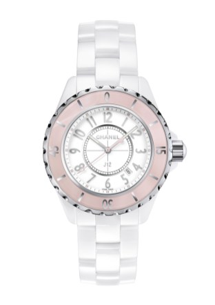 Chanel J12 Soft Rose 33mm