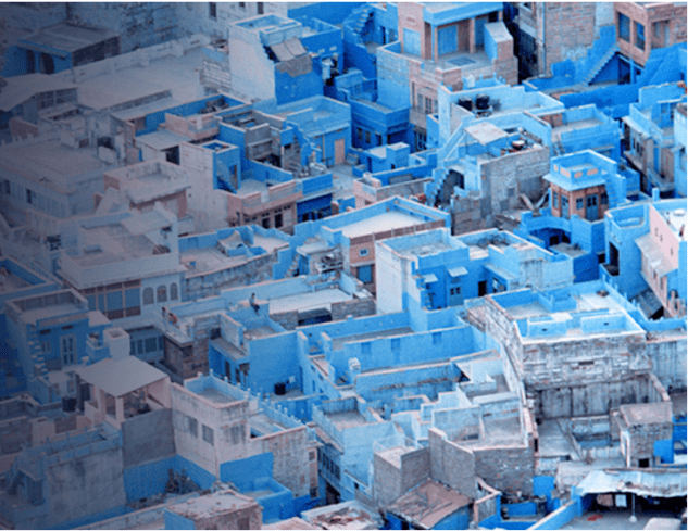 the blue city of Jodhpur