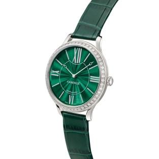 Fabergé Lady Fabergé 39mm 18ct White Gold Watch - Enamel Green Dial