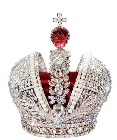 Catherine The Great's Imperial Crown.