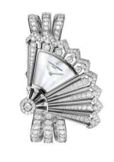 Heures Créatives - Heure Discrète all diamonds, open.