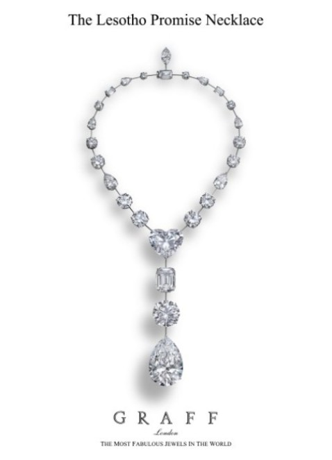The Lesotho Promise Necklace.