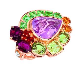 Granville Morganite Ring