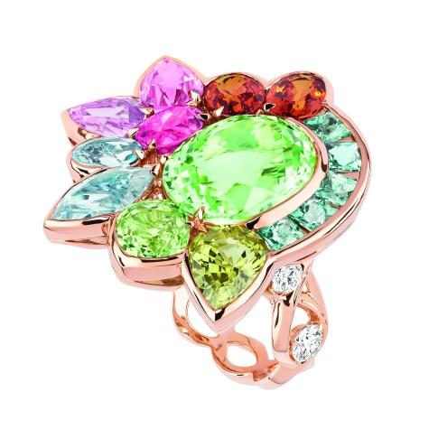 Granville Tourmaline Verte Ring