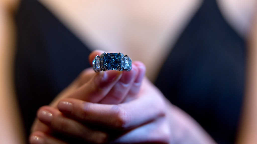 Sotheby's Geneva Jewellery Sale Preview The Sky Blue Diamond