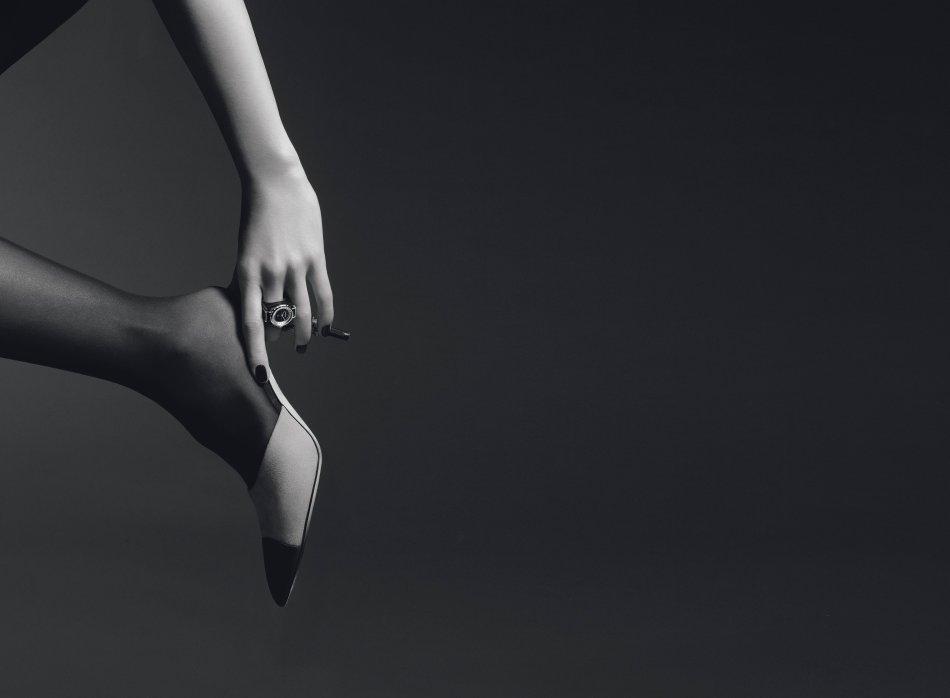 Chanel J12 XS Bague Haute Joaillerie Noire