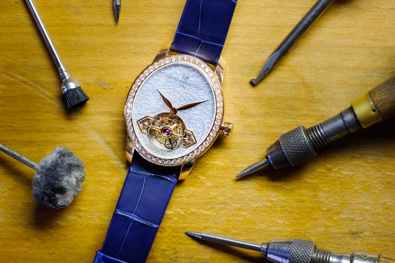 Girard-Perregaux Cat's Eye Tourbillon with Gold Bridge