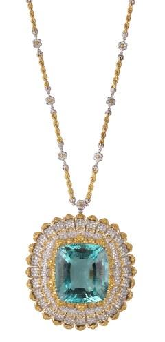 Buccellati Samarcanda brooch/pendant