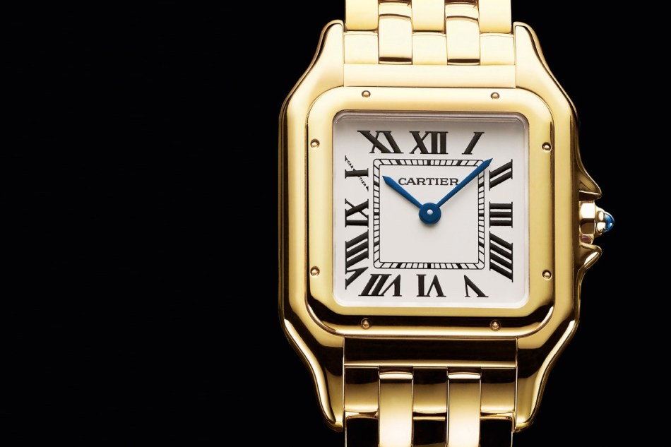 Panthère de Cartier watch, yellow gold