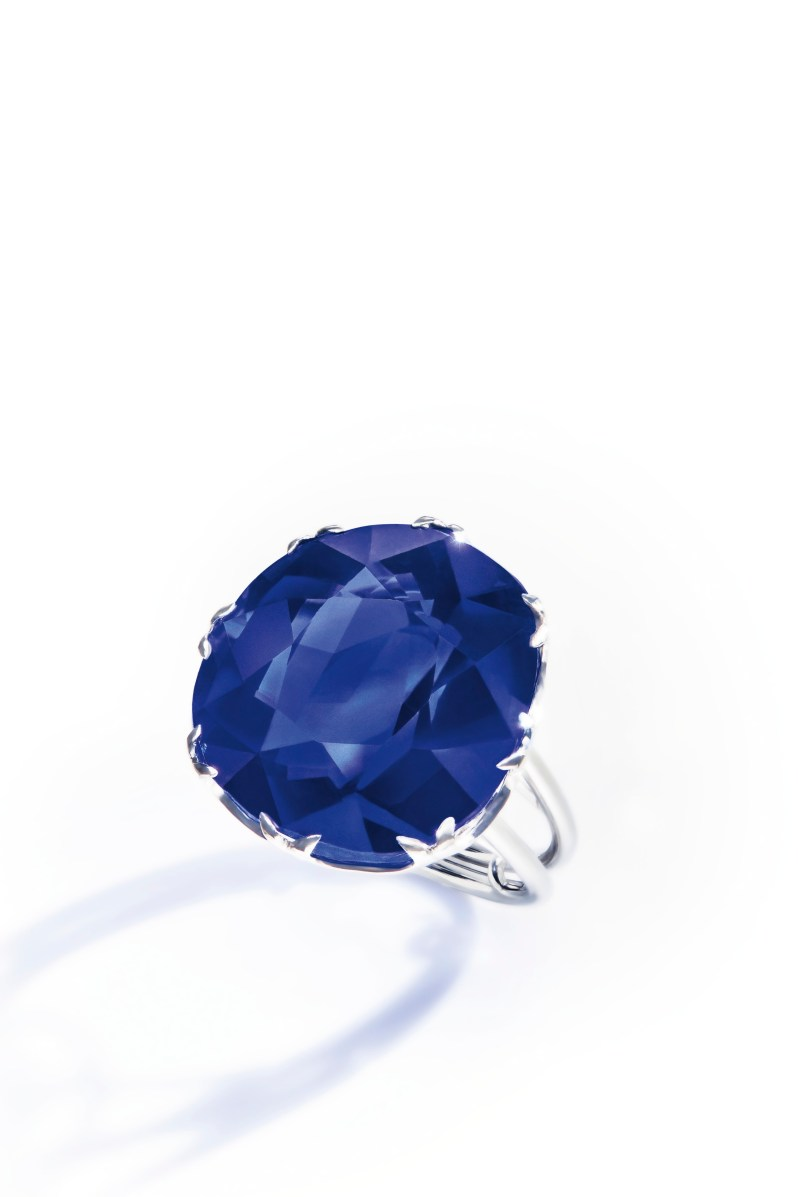 A Burmese Sapphire Ring, 47.63 carats
