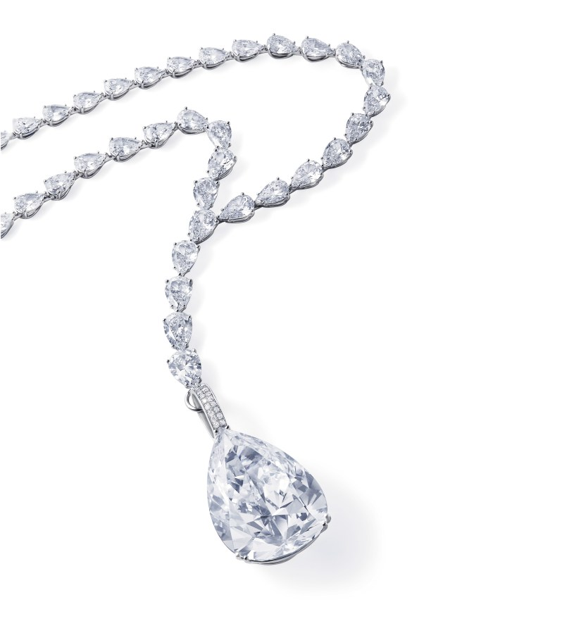 A Diamond Necklace, by Chopard, 56.03 carats, D, Potentially IF