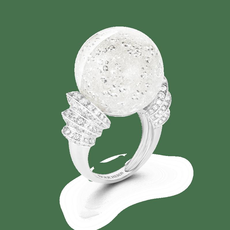 Boucheron Boule de Neige ring