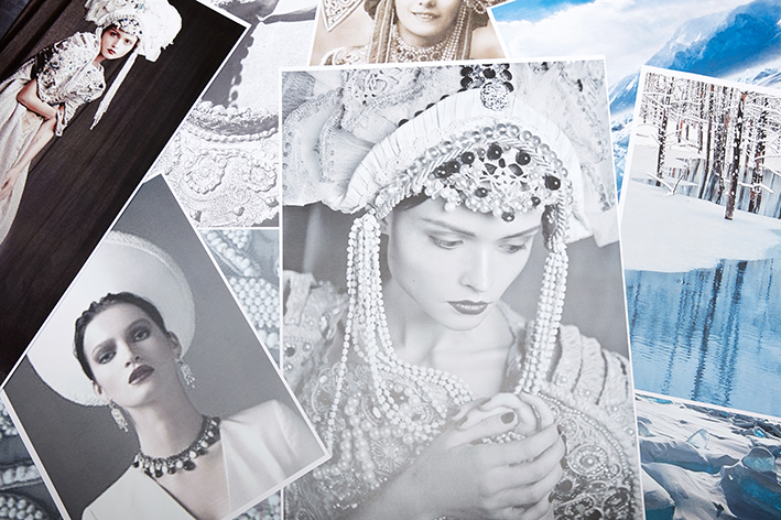 Boucheron Hiver Impérial High Jewellery Inspiration Moodboard