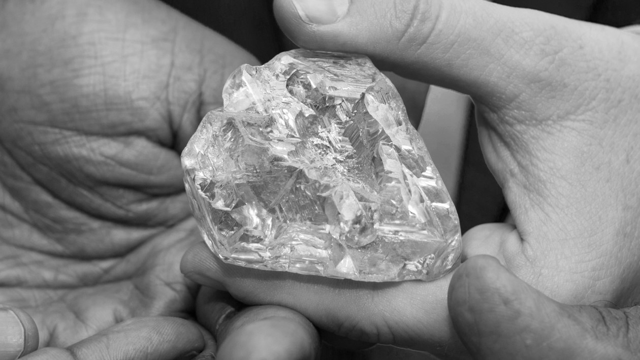 The Peace Diamond In Hands Credit - Graff