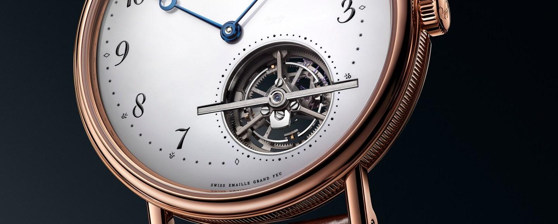 Breguet Classique Tourbillon Extra-Plat Automatique with Grand Feu enamel dial